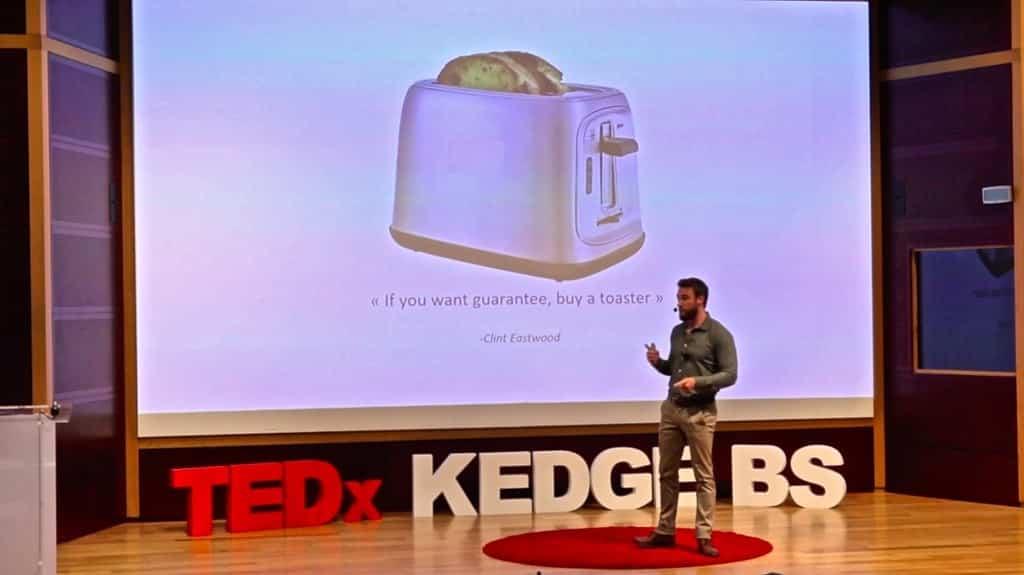Vivre sans réveil TEDx