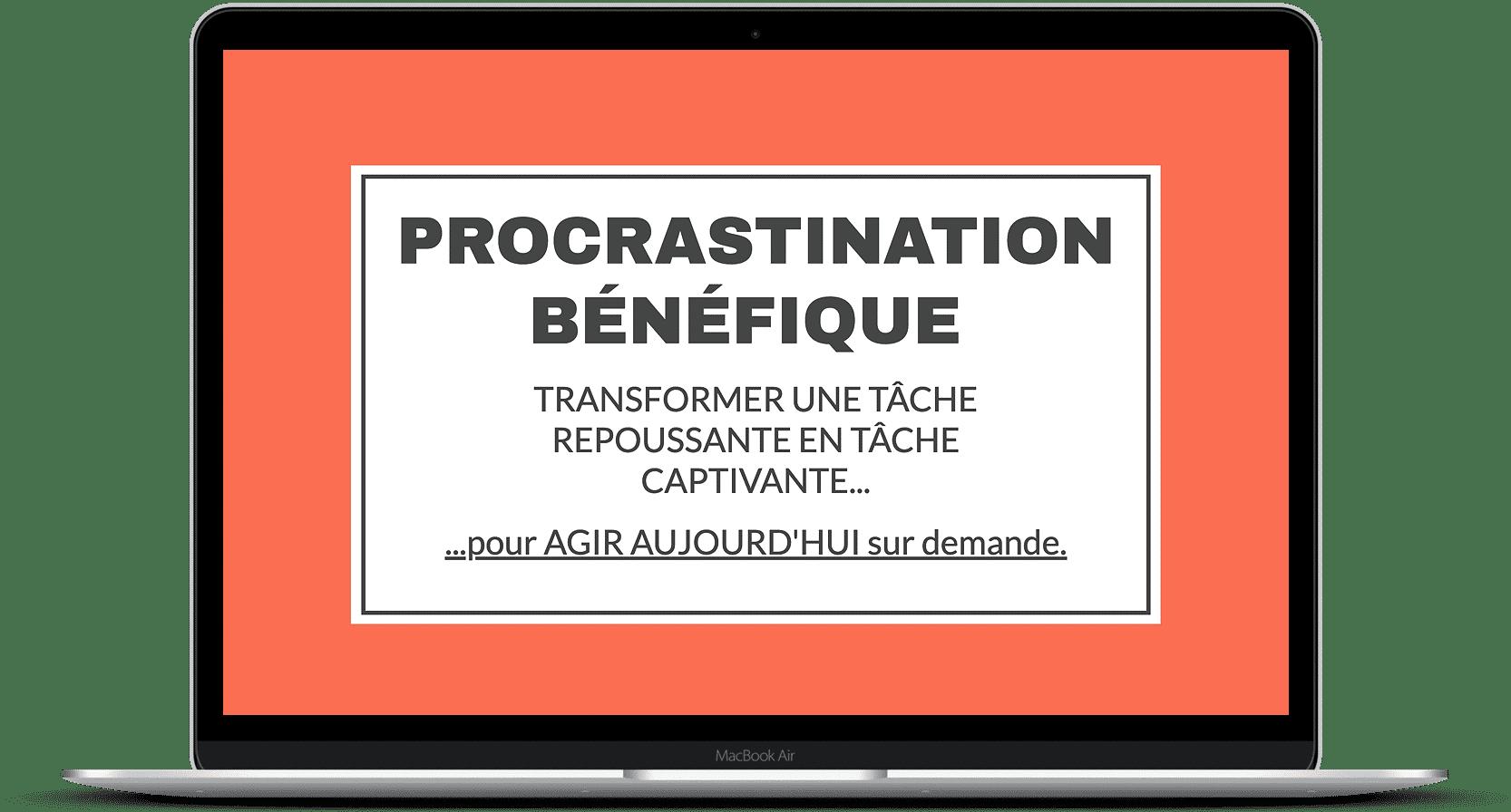 Procrastination bénéfique