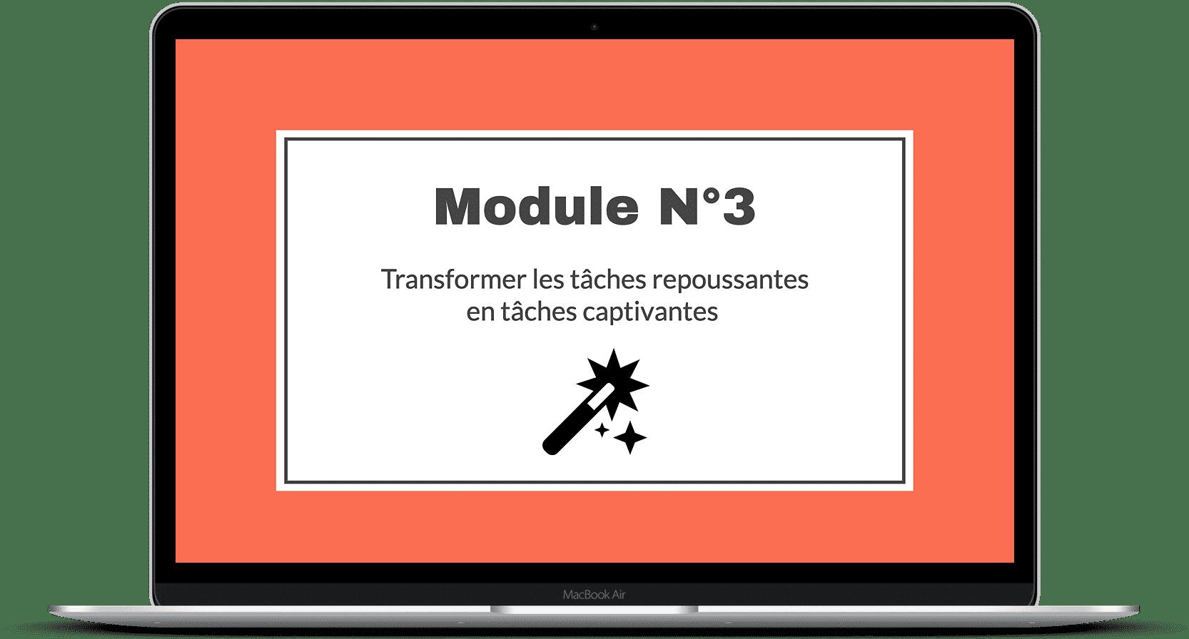 procrastination bénéfique module 3