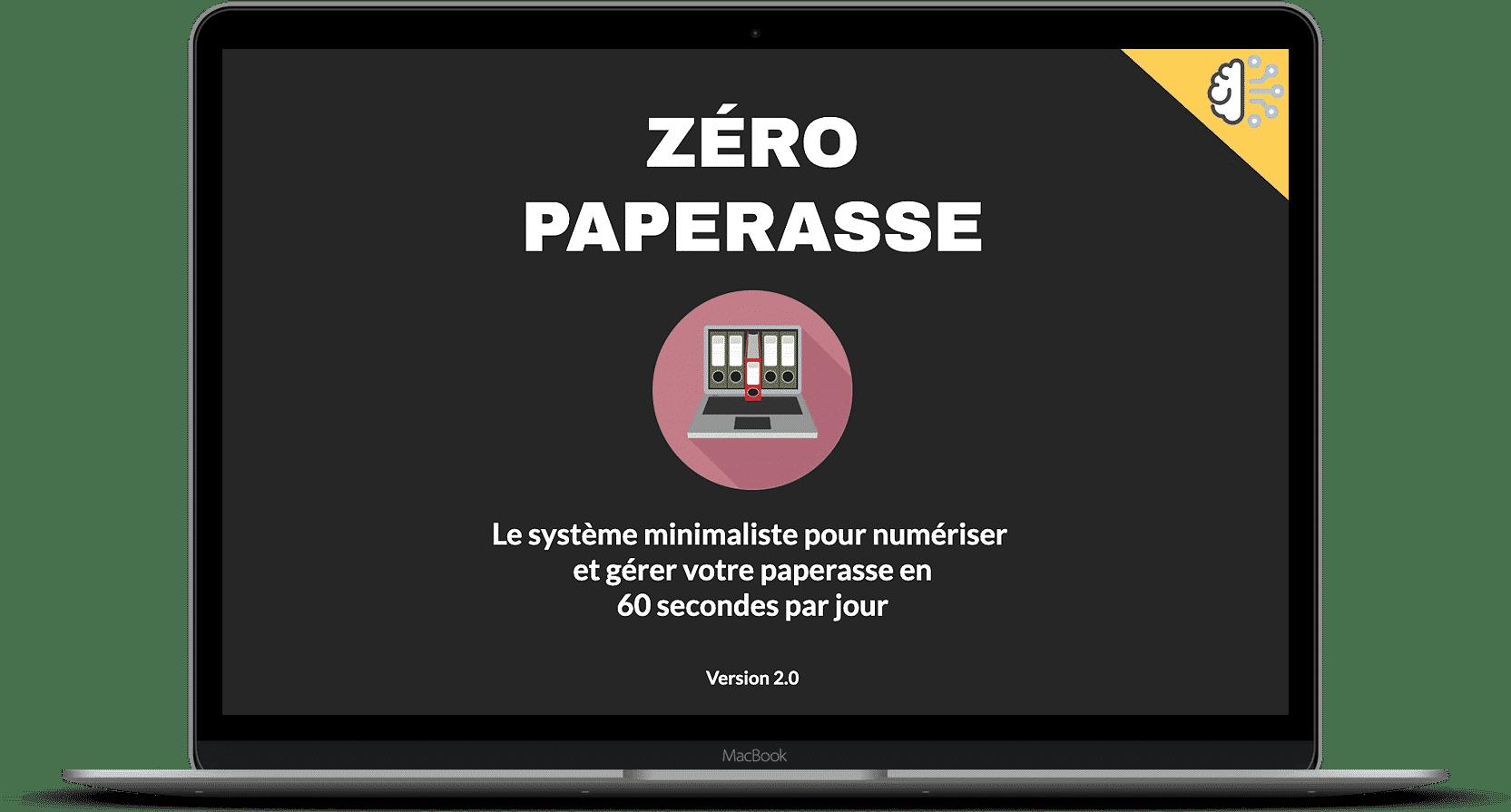 zéro paperasse 2.0