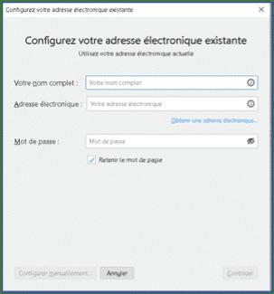Installer messagerie thunderbird 2