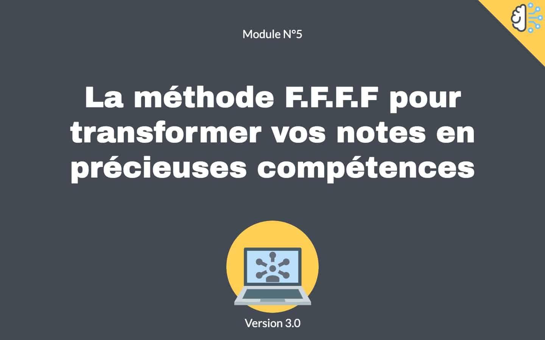 Prise de notes utiles module 6