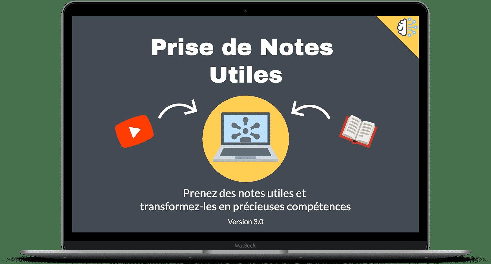 Prise de notes utiles 3.0