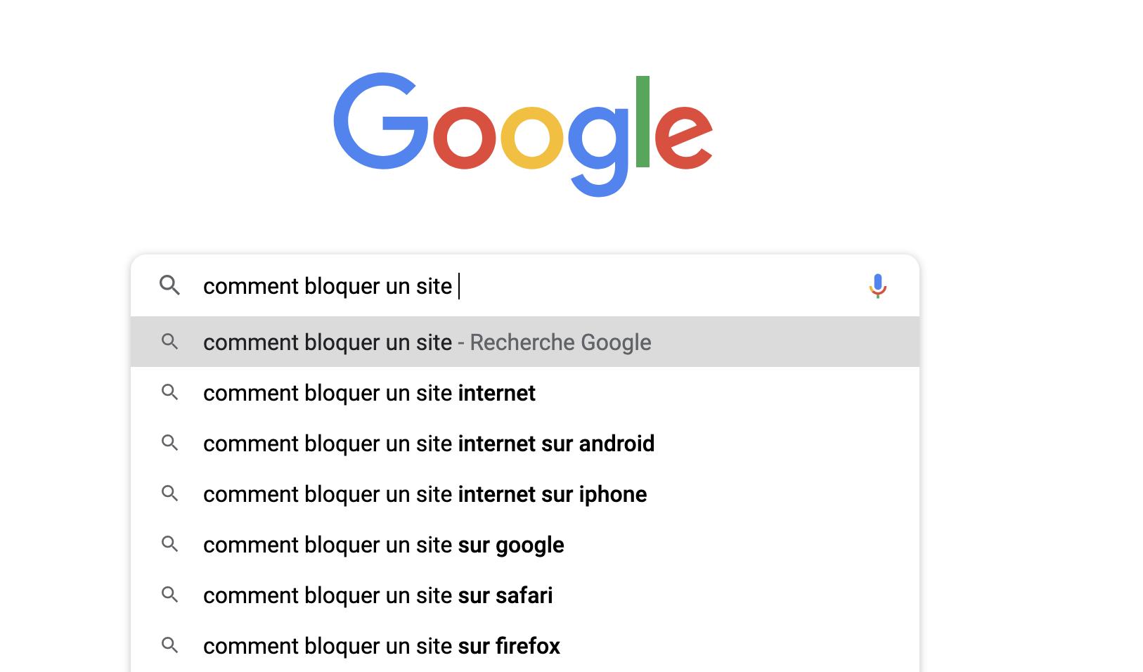 Comment bloquer un site internet